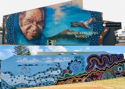 Wanju Nyungar Boodja (Welcome to Country) Mural Project 2019