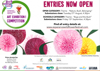 Act-Belong-Commit Esperance Wildflower Festival Art Exhibition and Competition