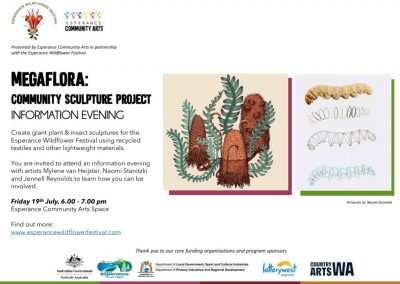 MegaFLORA Community Sculpture Project – Information Session