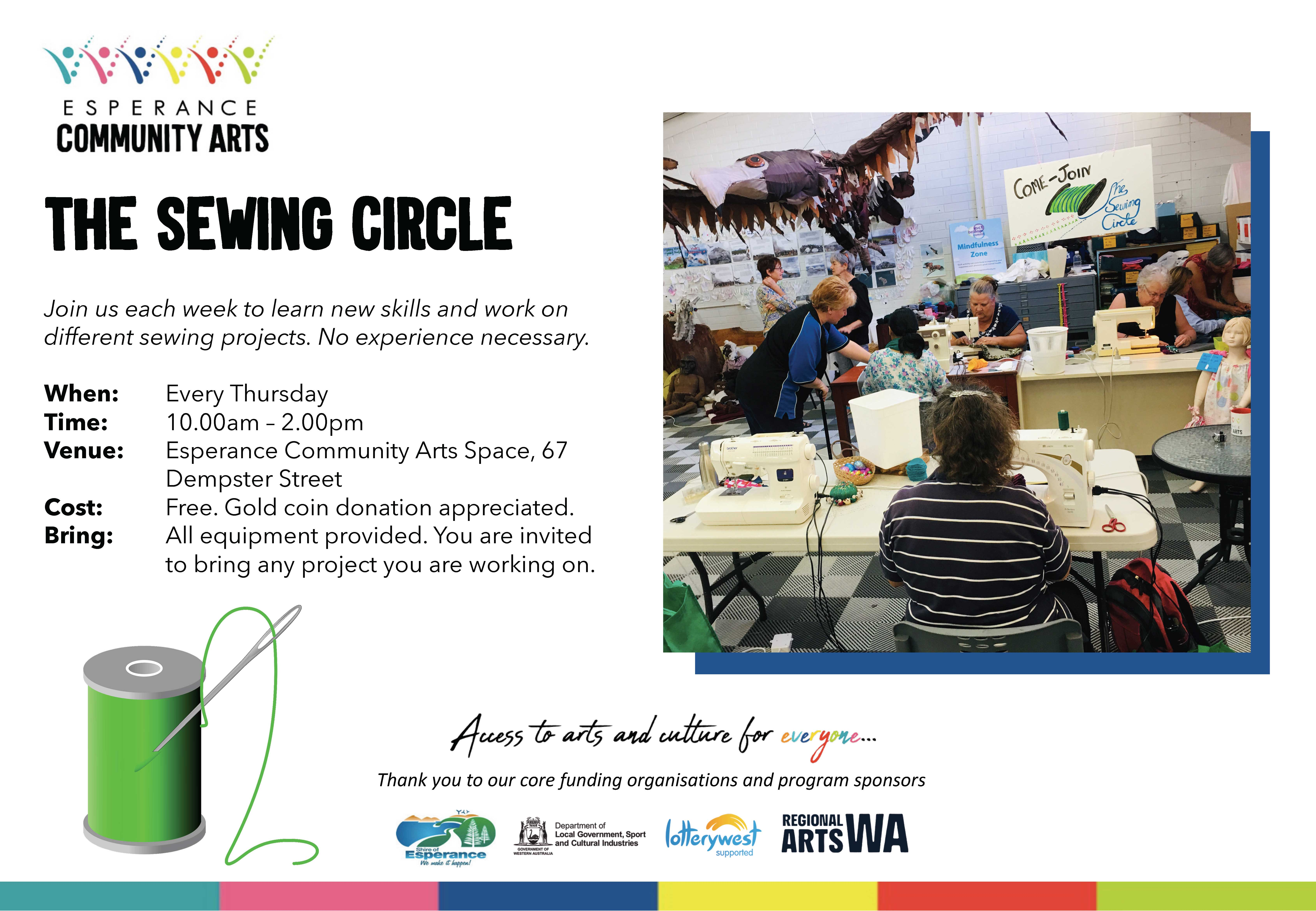 The Sewing Circle is back!
