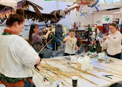 Flowers & Feathers Community Sculpture Project 2020