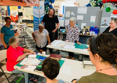 Act-Belong-Commit Art for Mindfulness – Book binding Workshops