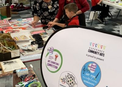 Act-Belong-Commit Resilience for Youth through Arts – Recycled Art Journal Workshops