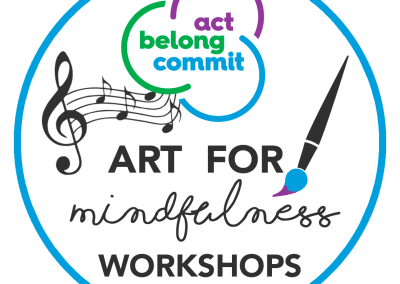 Act-Belong-Commit Art for Mindfulness